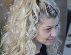 Fashion χτένισμα, Ευαγγελία Ντάγγαλου | Hair Stylist - Λάρισα
