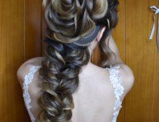 Νυφικές δημιουργίες, Ευαγγελία Ντάγγαλου | Hair Stylist - Λάρισα