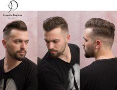 Ανδρικό κούρεμα, Ευαγγελία Ντάγγαλου | Hair Stylist - Λάρισα