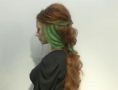 Χτένισμα για μακριά μαλλιά, Ευαγγελία Ντάγγαλου | Hair Stylist - Λάρισα