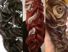 Χτενίσματα για μακριά μαλλιά, Ευαγγελία Ντάγγαλου | Hair Stylist - Λάρισα