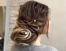 Chignon, Ευαγγελία Ντάγγαλου | Hair Stylist - Λάρισα